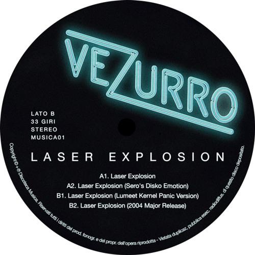 "B1. Vezurro - Laser Explosion (Lumeet Kernel Panic Version) (MUSICA01 - 12"")"