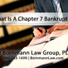 Bankruptcy Attorney Jonathan Simon Explains A Chapter 7 Bankruptcy in Arizona
