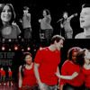 Don't Stop Believing Glee cast ''Rachel & Finn''