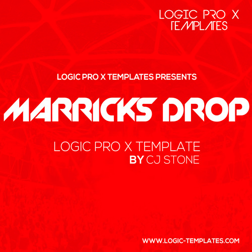 Marricks Drop Logic Pro X Template