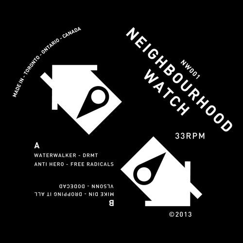 NW001 - Waterwalker / Anti Hero / Mike Din / Vlsonn