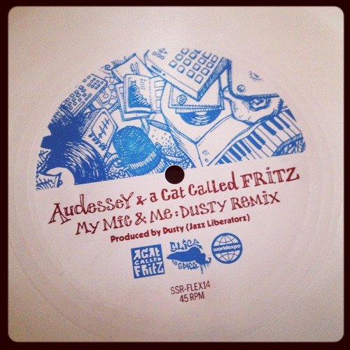 Audessey & A Cat Called FRITZ - My Mic & Me (Dusty Remix)