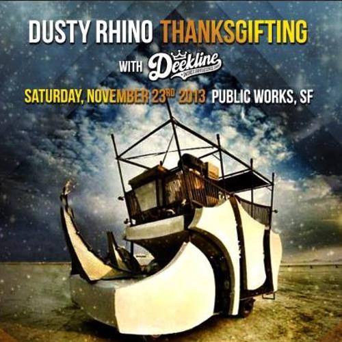 DJ Deekline - Dusty Rhino, Ep 7 - Dusty Rhino Thanksgifting 2013