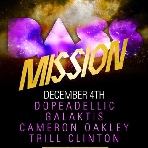 Cameron Oakley live @ Elektricity : Bass Mission December 4th