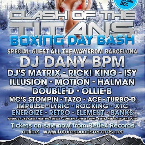 Clash Of The Titans Halloween Special 2013... DJ Ollie-B - Mc Lyric & Element (un-released warm Up)