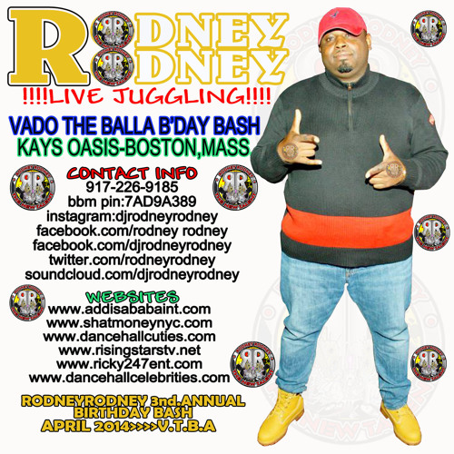 RODNEYRODNEY LIVE JUGGLING VADO BDAY BASH KAYS OASIS BOSTON MASS. DEC.2013