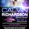 Calvin Richardson live at the Royal Palace December 27th