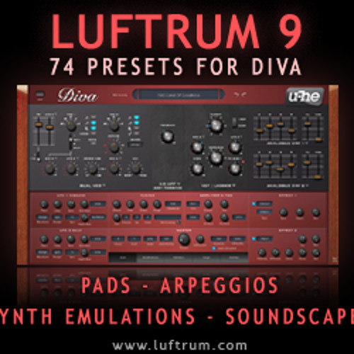 Luftrum 9 - New Arpeggiator Variations (DIVA v1.3)