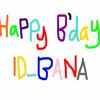 Happy 1st Anniversary ID BANA