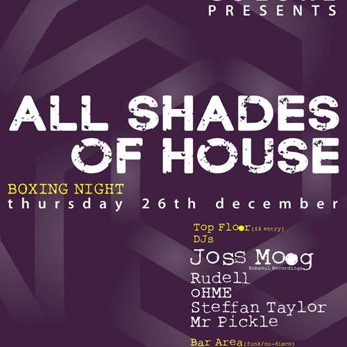 Coloré presents Joss Moog @ The Bulls Head, Boxing Night 26/12/13. Promo Mix by Joss Moog