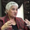 Māori Party, co leader, Tāriana Tūria, pays homage to Piripi Crown QSM.