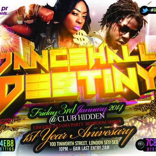 #DancehallDestiny Mix CD Bashment & Reggae