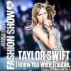 Taylor Swift - I Knew You Were Trouble. (Victorias Secret Fashion Show)