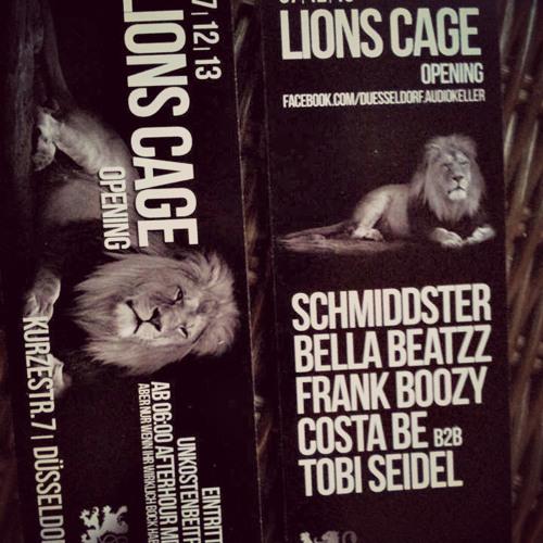 Costa Be & Tobi Manolo @Lions Cage Opening, KlangKeller DTC 07.12.13