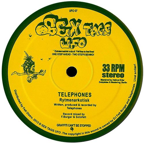 Telephones - Rytmenarkotisk