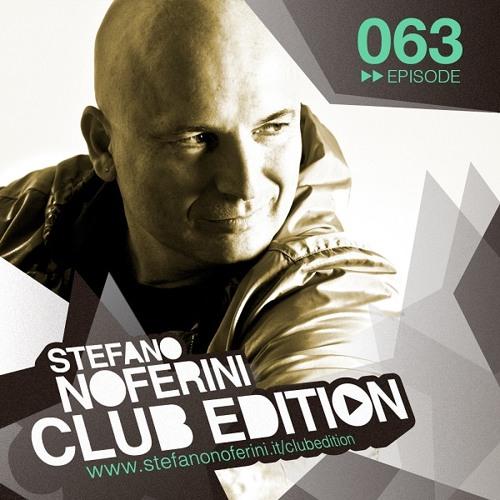 Club Edition 063 with Stefano Noferini
