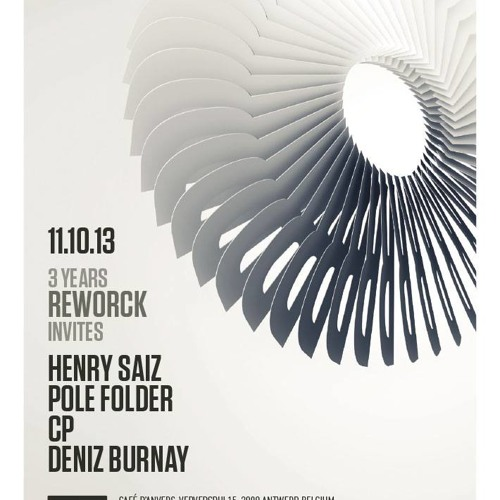 3 Years Birthday Of Reworck At Café d'Anvers - Soundcloud cut