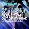 MK vs. KM - Your Love vs. Can't get you out of my head (Crazibiza Edit)