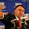 CBS college football analyst, Houston Nutt, joins Sports Night.  Part 1/2. 12-13-13