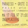 Down With Disease > Carini > Taste > Down With Disease - 1997-02-17 @ Paradiso