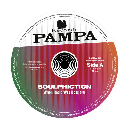 PAMPA019 Soulphiction - A When Radio Was Boss