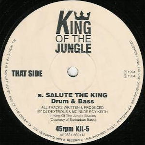 DJ Dextrous & Rude Boy Keith - Salute The King ( verb & fox - Remix ) OUT NOW LINK BELOW !