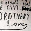 U2 Ordinary Love (Paul Epworth Version) Artwork
