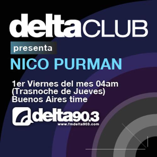 Nico Purman - Delta Club Podcasts - December 6, 2013