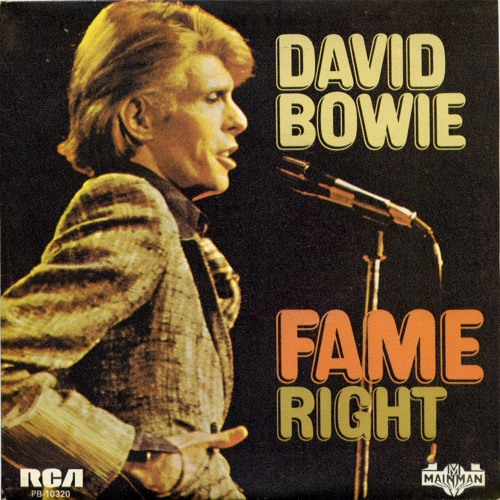 David Bowie - Fame (The Apple Scruffs Edit)