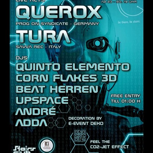 CORN FLAKES 3D @ Future Waves Stairs 14.12.13