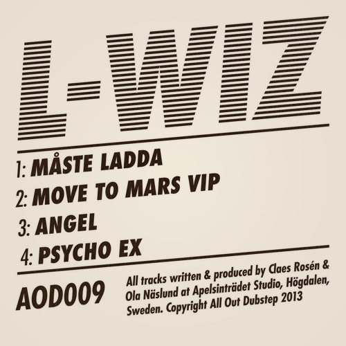 L-WIZ - LADDA EP - OUT NOW! ( AOD 009 )