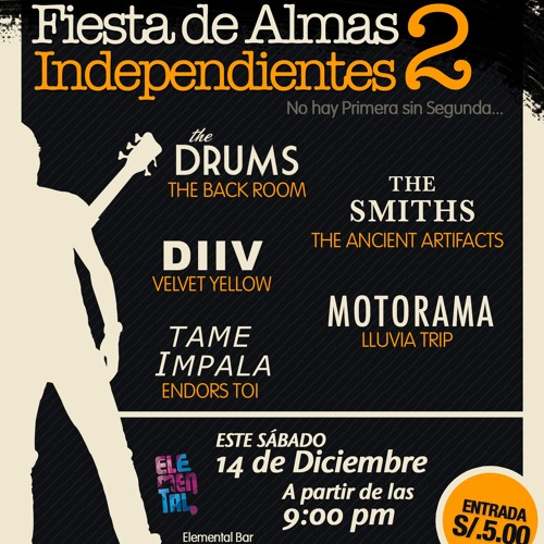 Fiesta de almas independientes 2 - LLUVIA TRIP (COVER MOTORAMA)
