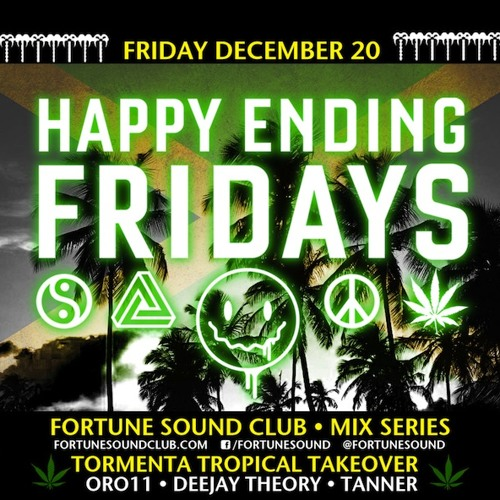 Tormenta Tropical Takeover Happy Ending Fridays Exclusive Mix