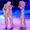 Lady Gaga feat Christina Aguilera live Do What U Want at The Voice US