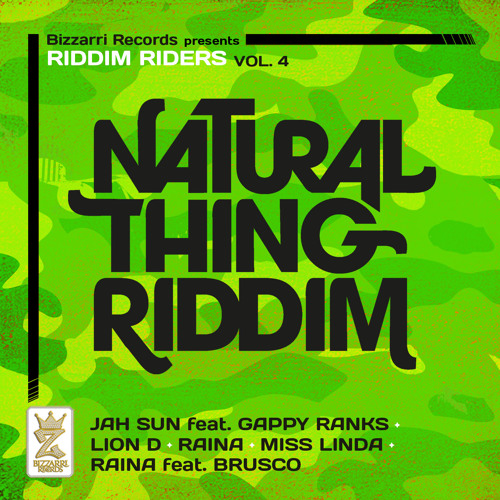 Jah Sun feat. Gappy Ranks - Never Stray [Natural Thing Riddim - Bizzarri Records 2013]