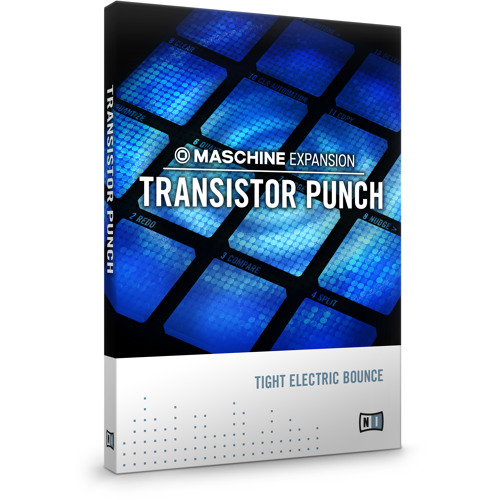 MASCHINE > TRANSISTOR PUNCH > 'Hands Up' Demo