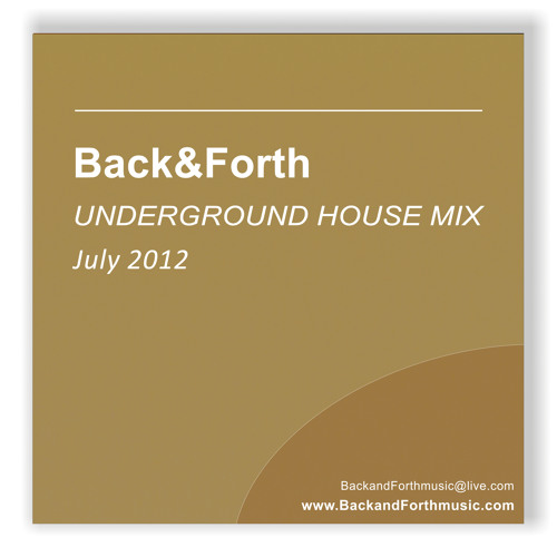 Back&Forth July 2012 promo mix