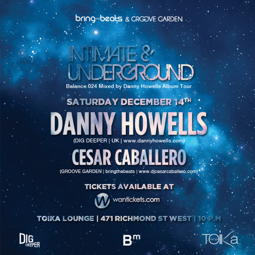 Cesar Caballero - INTIMATE & UNDERGROUND v25 - December 14, 2013