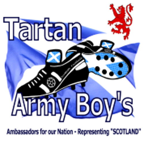 Tartan Army Boy's - We'll be Coming Down the Road