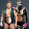 Goldust & Cody Rhodes 2nd WWE Theme Song - Gold & Smoke