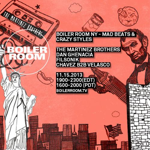Filsonik Boiler Room NYC DJ Set