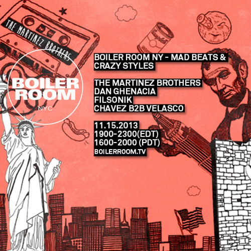 Chavez B2b Velasco Boiler Room NYC DJ Set