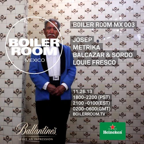 Metrika LIVE Boiler Room Mexico