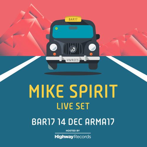 Mike Spirit @ Bar 17 (Arma 17, Moscow) — 14.12.2013