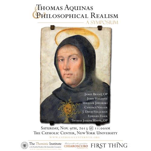 "John Haldane: ""Aquinas And Realism"" (Jaworski Responding) (11/9/2013)"