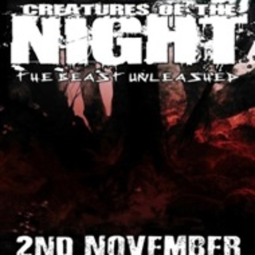 """Creatures Of The Night"" Nov 13 - My Other Side!"