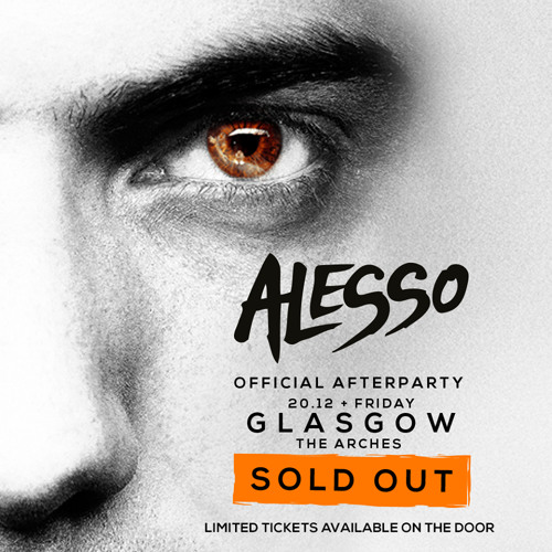 Broony - Alesso After Party Set @ The Arches Dec 2013