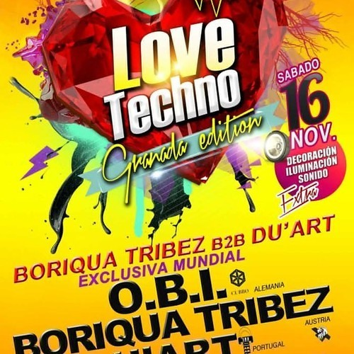 BORIQUA TRIBEZ vs DU'ART@We love Techno, Granada, 16.11.2013