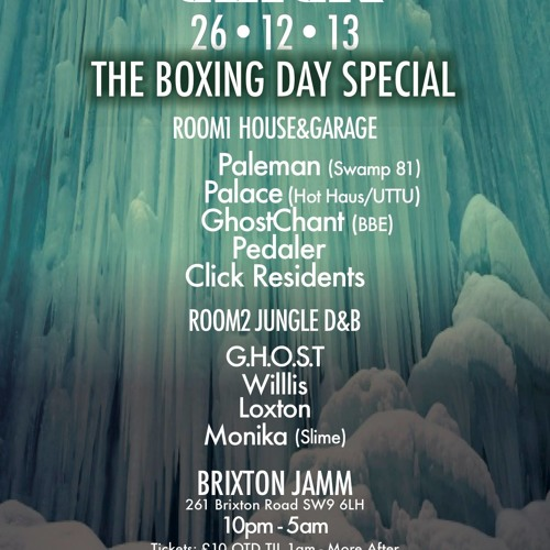 TwIn Click Resident Mix for The Click Boxing Day Special: Paleman, Palace, GhostChant + More)