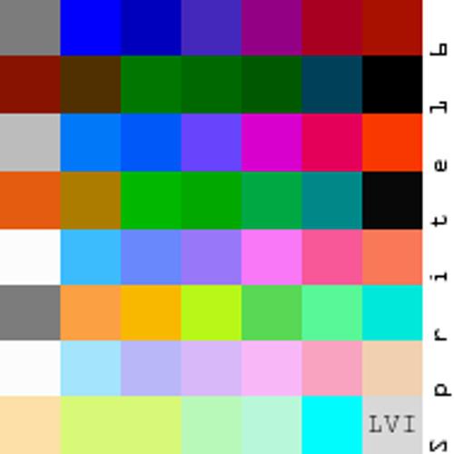 Sprite 16: LVI - LVI: The Colours That Make It The End
